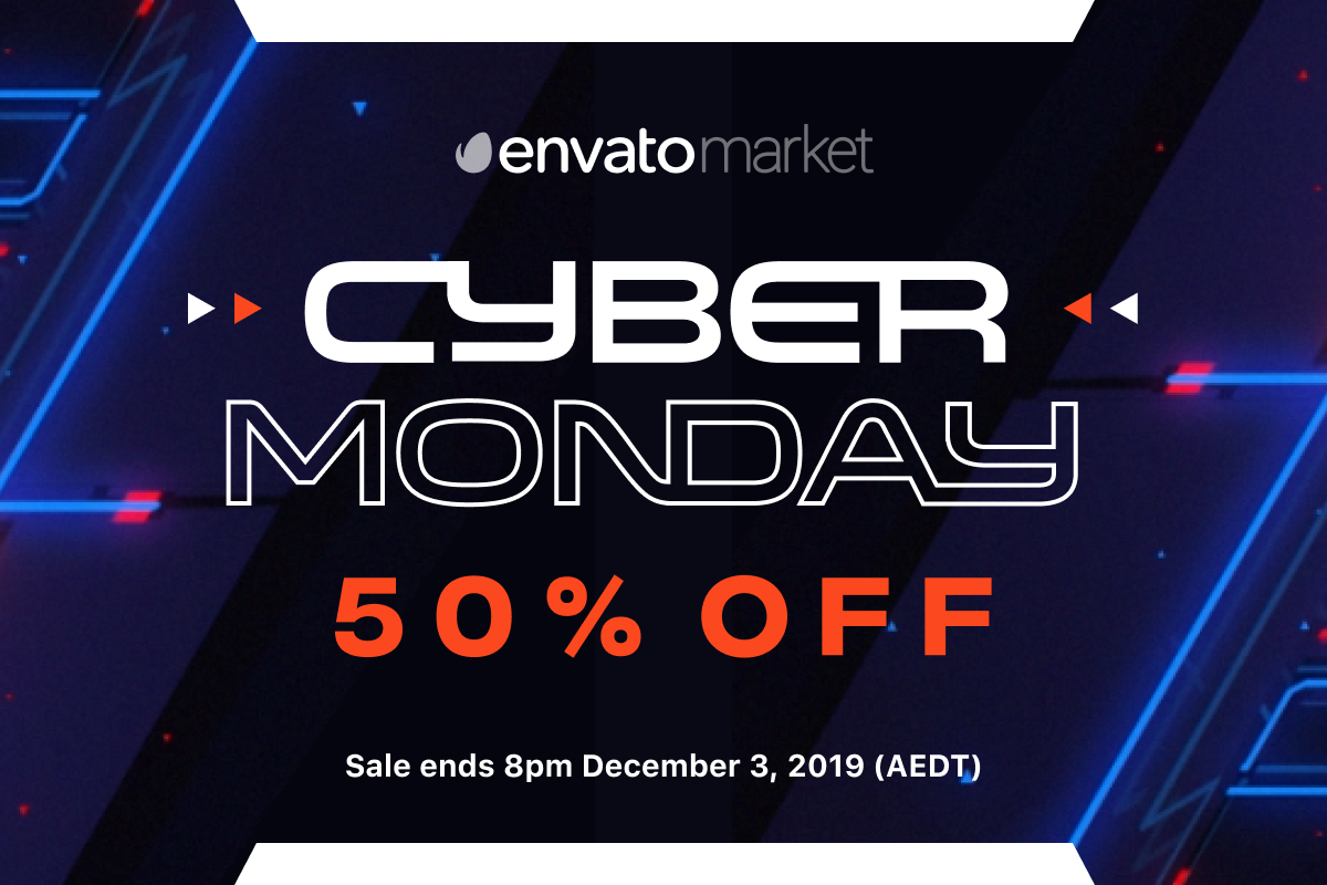 Envato's Cyber Monday Sale
